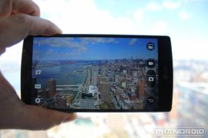 سنسور طیف رنگی در LG G4