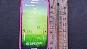 سنسور دما در S4
