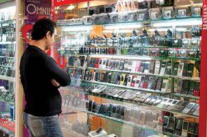 قیمت گوشی 50 درصد کاهش می باید با عرضه گوشی های توقیف شده