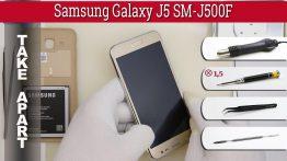آموزش باز کردن سامسونگ J5 2015 یا J500