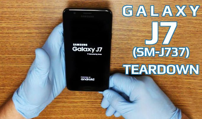 آموزش باز کردن گوشی سامسونگ J7 2018 یا J737